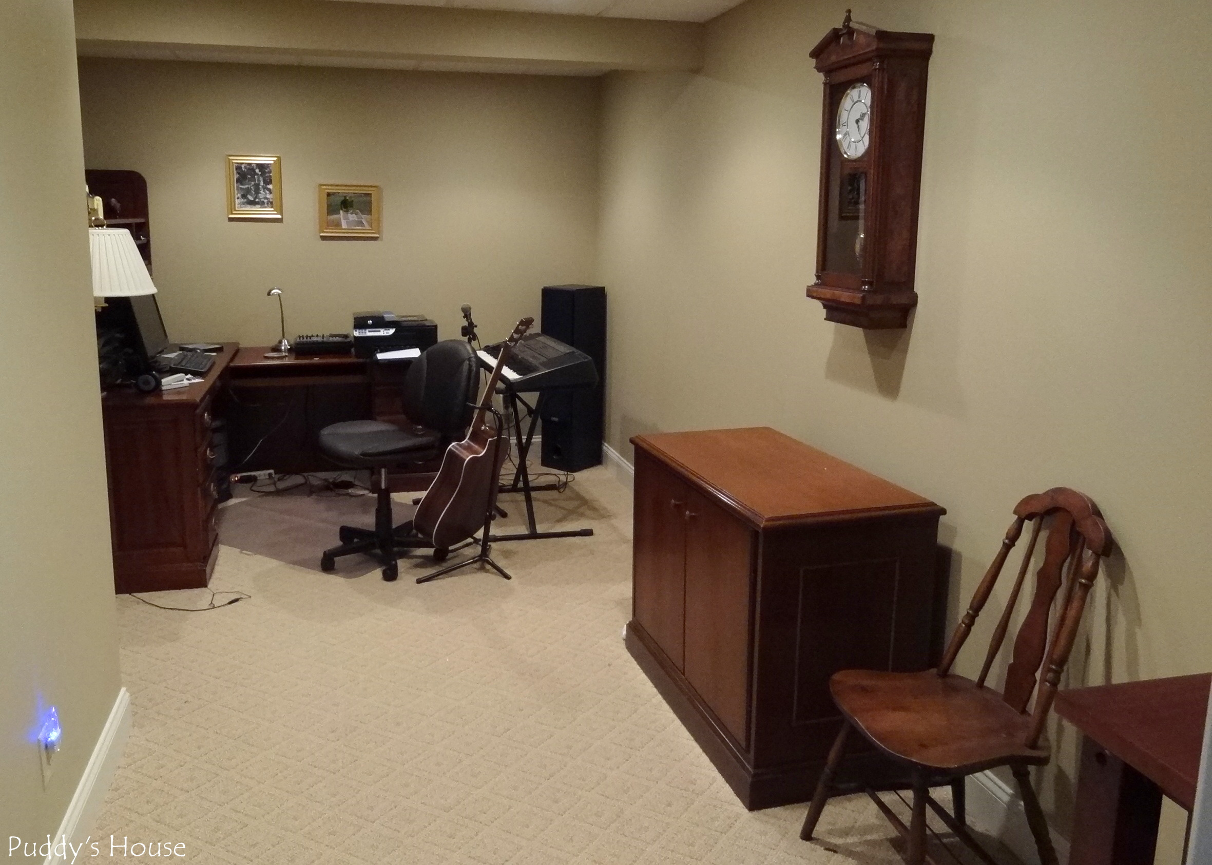Basement – Music office Room – Puddy s House