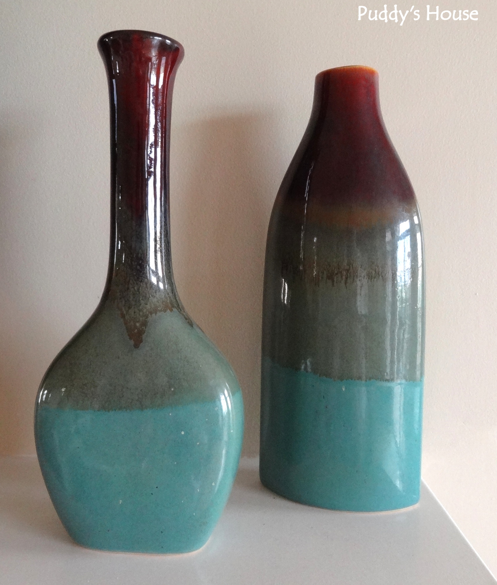 Thrift Shopping- new ceramic vases