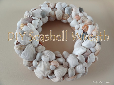 DIY Seashell Wreath - header pic