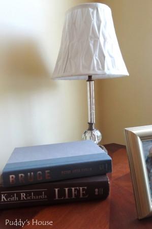 Lamp rewiring - lamp on bob's nightstand
