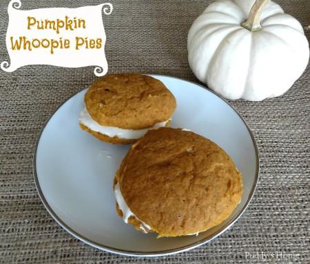 Pumpkin Whoopie Pies - Puddy's House