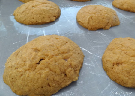 Pumpkin  Whoopie Pies - fresh out of oven