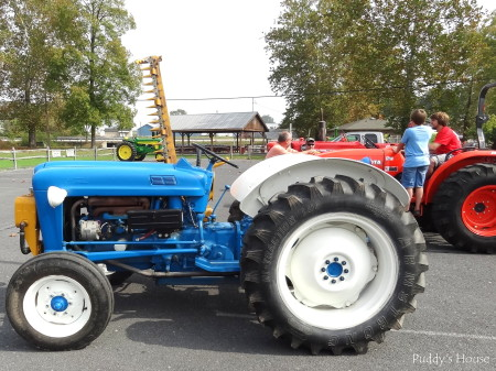 Tractor Ride - Blue Armstrong with Kubota and John Deere in background