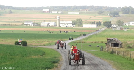 Tractor Ride  - tractors with farm scenery