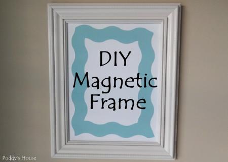 Magnetic Frame - DIY Magnetic Frame