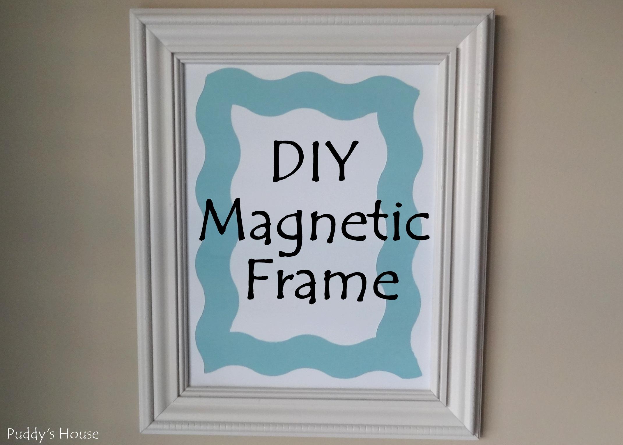 magnetic frame diy magnetic frame