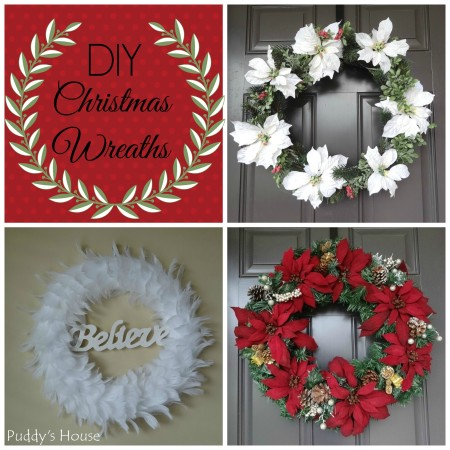 DIY Christmas Wreaths - Puddy's House