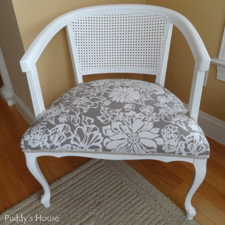 Ugly to Pretty - chair after