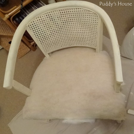 Ugly to Pretty - chair with one coat chalk paint