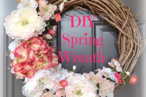 DIY Spring Wreath 2014 - after header