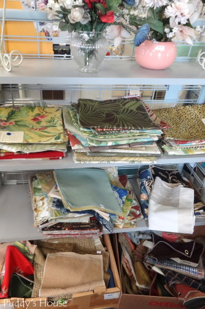 Lancaster Creative Reuse - fabric