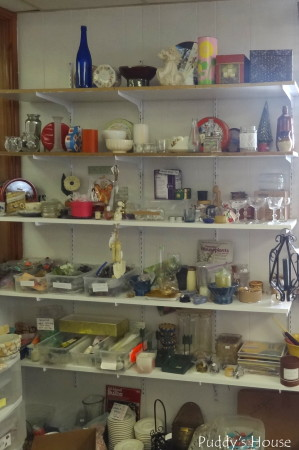 Lancaster Creative Reuse -glassware and misc supplies