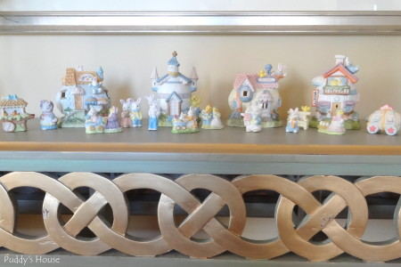 Easter Decorating - ceramic easter village