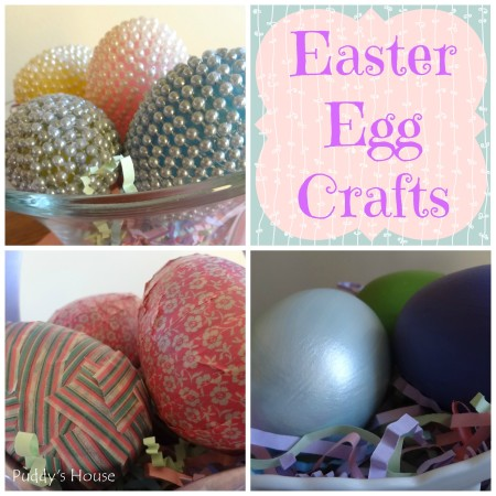 Easter Egg Craft Collage Header