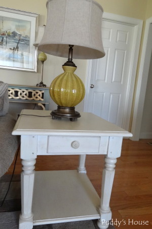 Living Room Reveal - rectangle end table