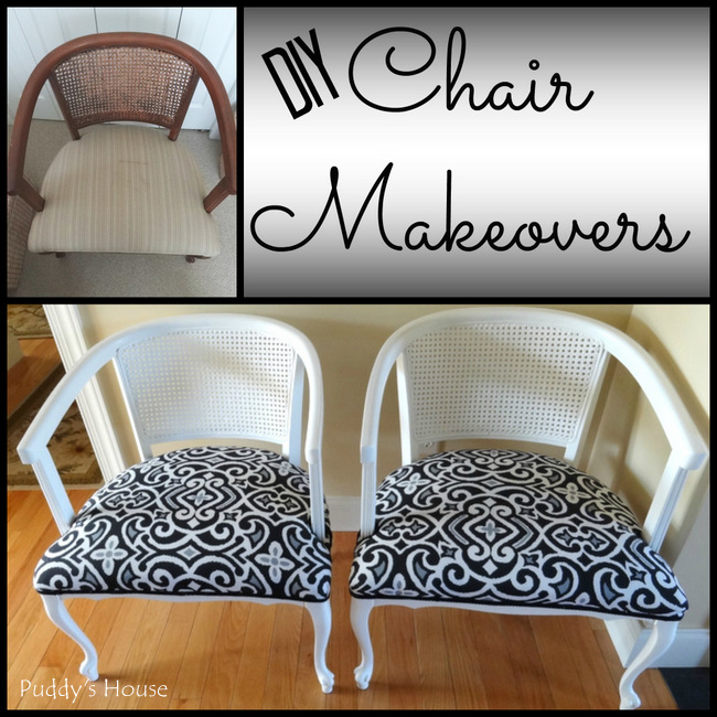 DIY Chair Makeovers