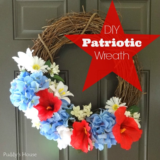 DIY Patriotic Wreath header