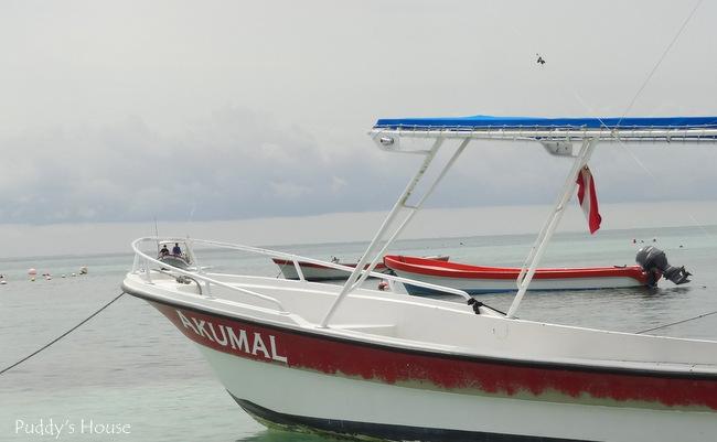 Mexico - Akumal boat
