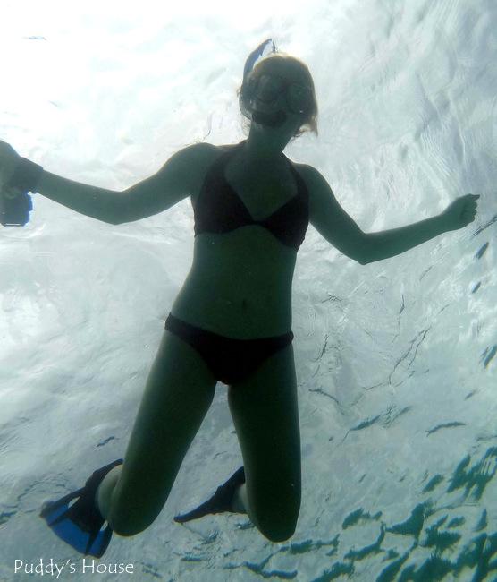 Mexico - Akumal leslie snorkeling