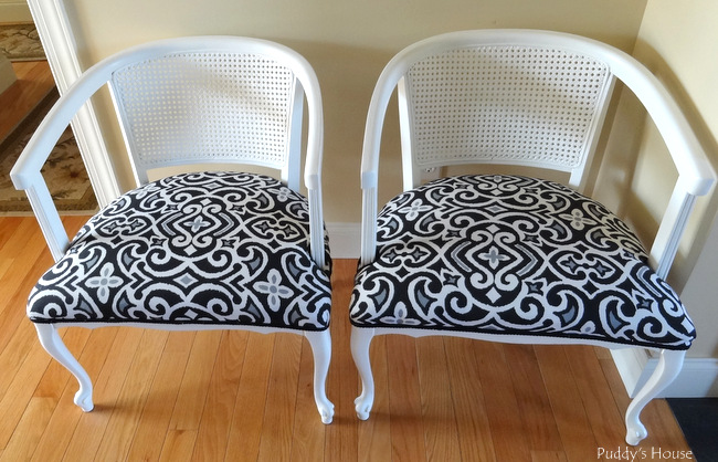 ugly to pretty chairs finished
