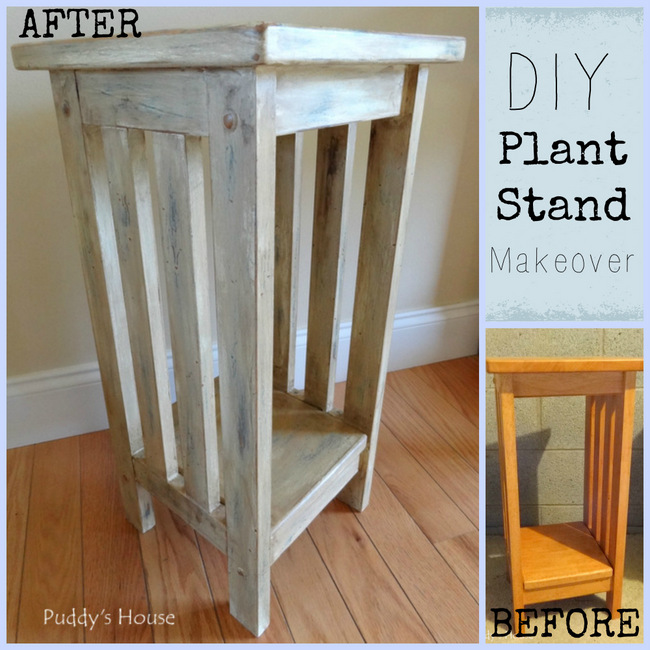 1-DIY Plant Stand Makeover