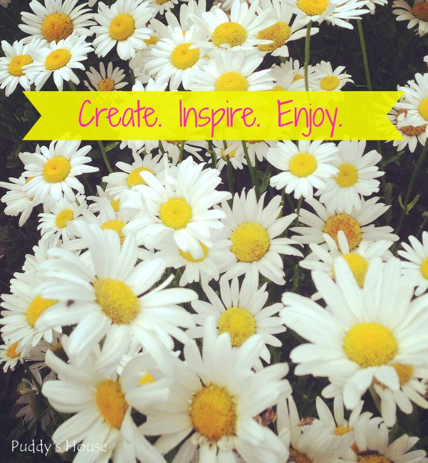 Daisies-create inspire enjoy