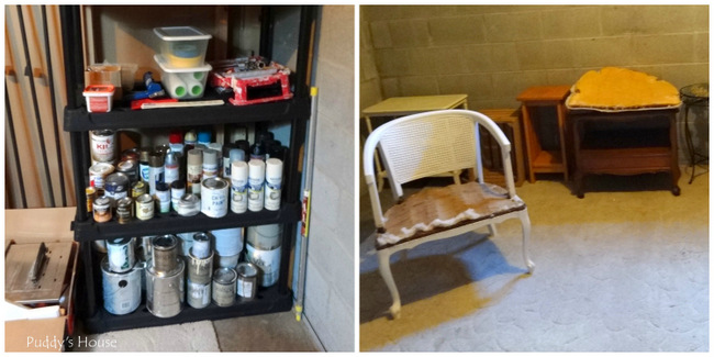 1-basement workspace collage