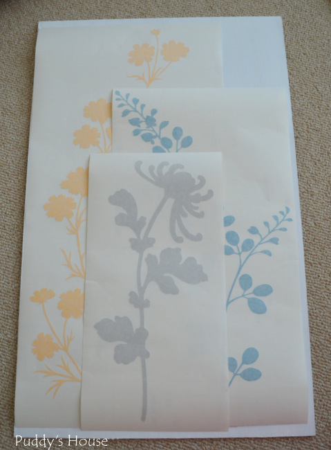 Wallternatives - layered floral decals