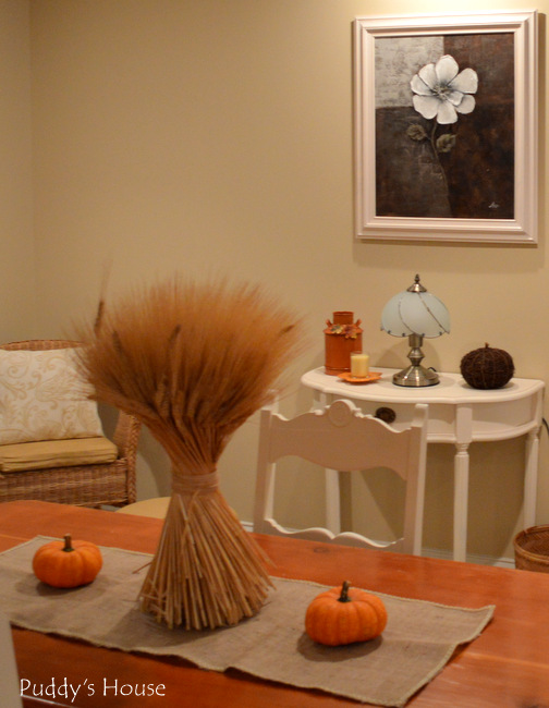 Fall Home Tour - basement dining area 2