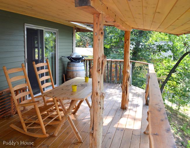 Finger Lakes - cottage porch