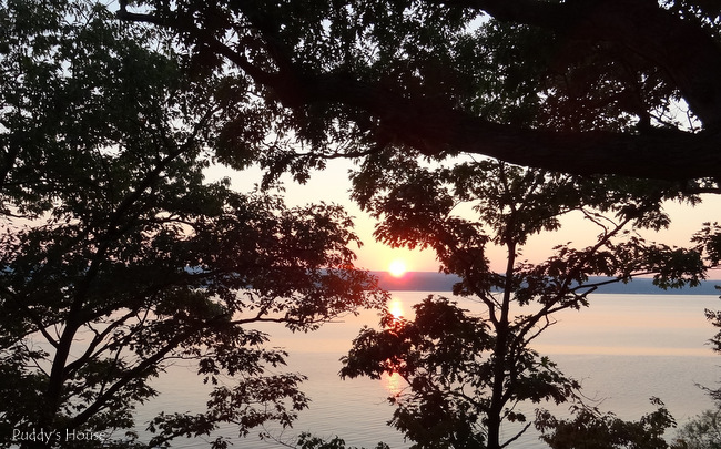 Finger Lakes - sunset from cottage