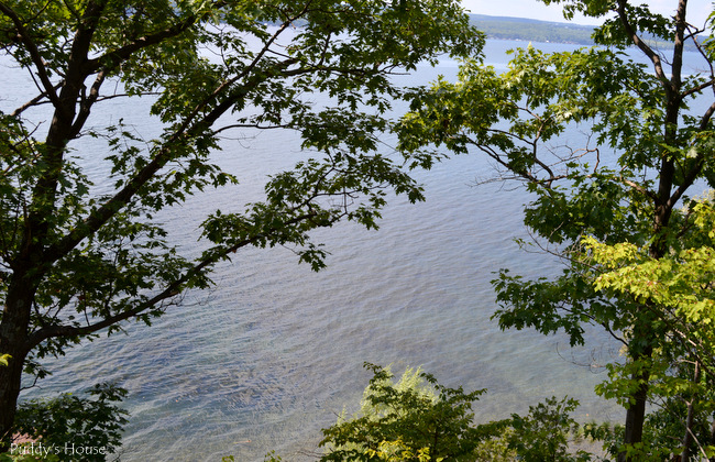 Finger Lakes - view from cottage