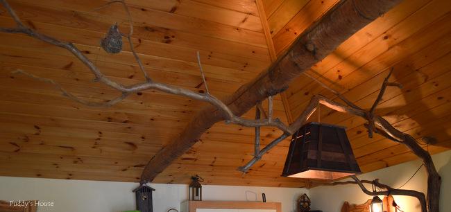 Finger Lakes - wooden beams