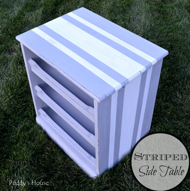 1-striped side table header