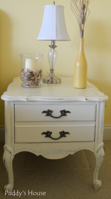 Chalk Paint Nightstands - after right side