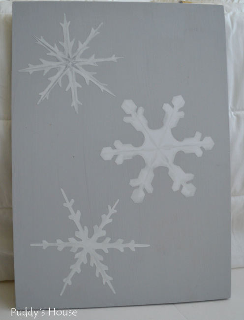 Wallternatives - 3 snowflakes