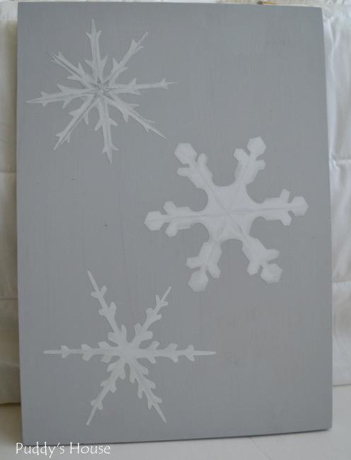 Wallternatives - 3 snowflakes
