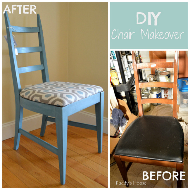 1-DIY Chair Makeover