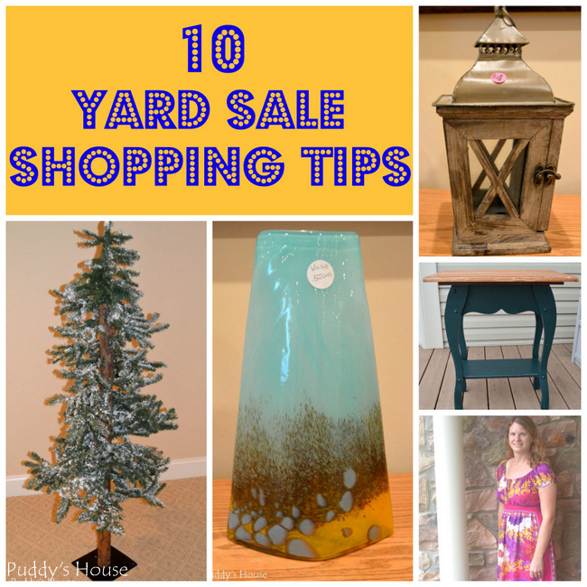 10 Yard Sale Shopping Tips