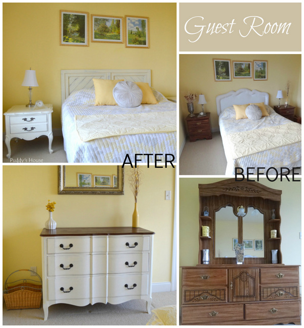 1-Guest Room Before and After