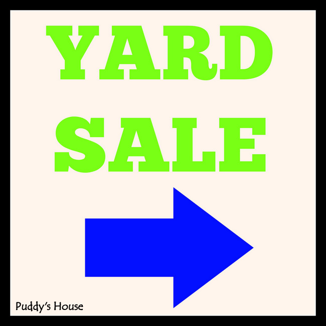 1-Yard Sale Header