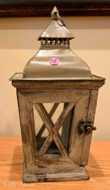 Yard Sale - lantern