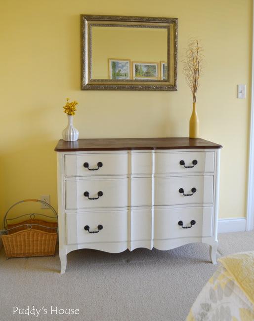 guest room - reveal dresser 2