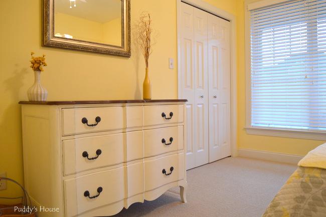 guest room  - reveal dresser