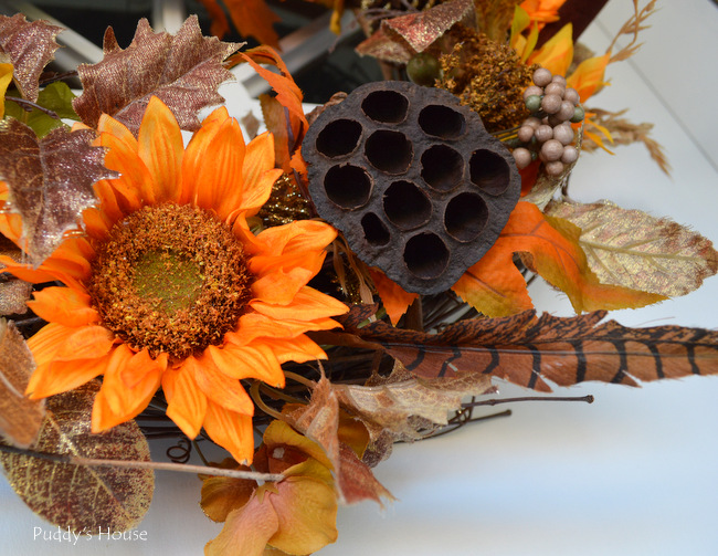 DIY Fall Wreath - Close up3