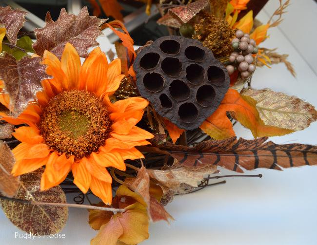 DIY Fall Wreath - Close up3