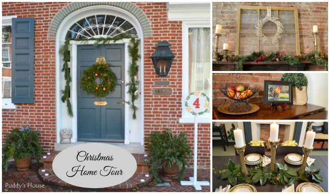 Christmas Candlelight Home Tour