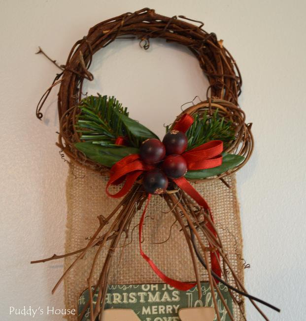 Noel -  after wreath